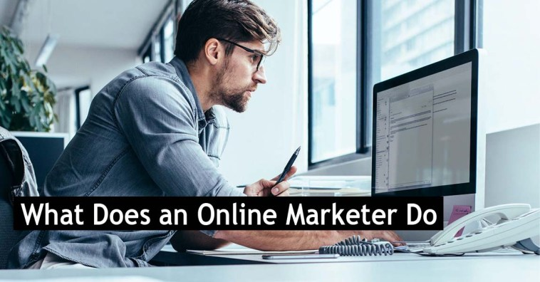 What Does an Online Marketer Do
