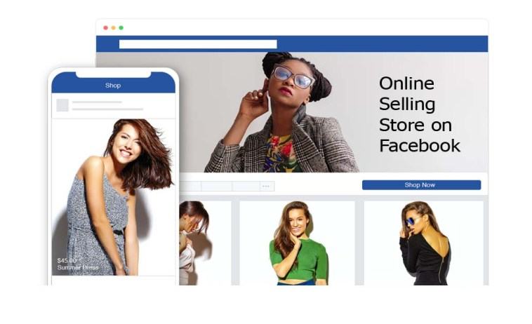 Online Selling Store on Facebook