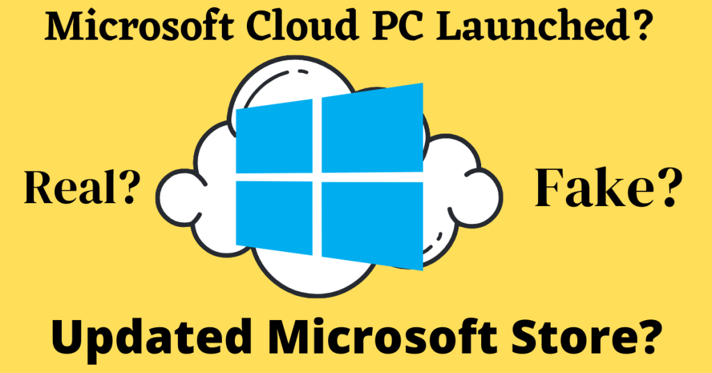 Microsoft Cloud pc launched