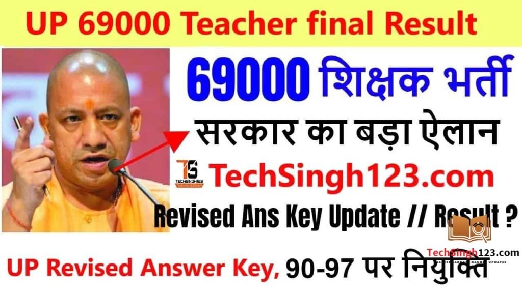 UP Assistant Teacher Result