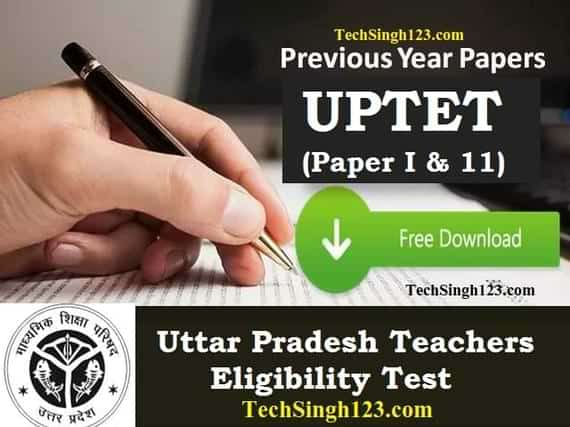 UPTET Previous Year Question Papers with Answer