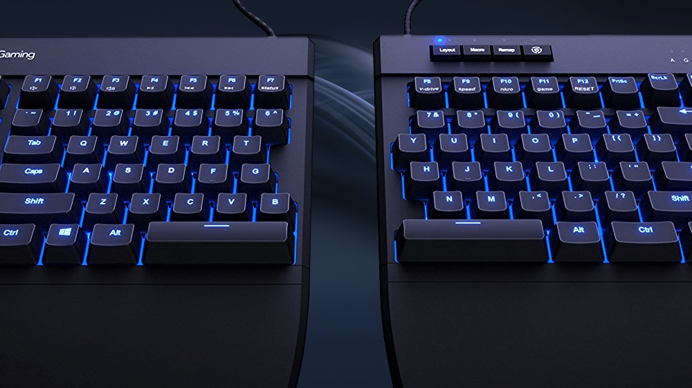 a57d063844d 5 Best Split Mechanical Keyboards of 2019 - TechSiting