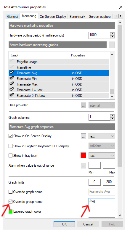 MSI Afterburner Utility Software Grouped Step 3