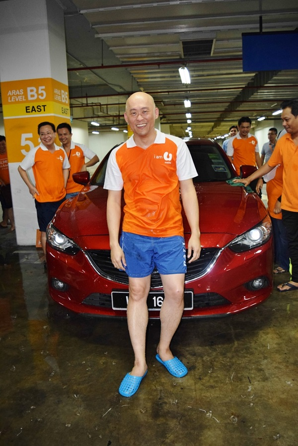 U Mobile_ALS Ice Bucket Challenge Picture 2