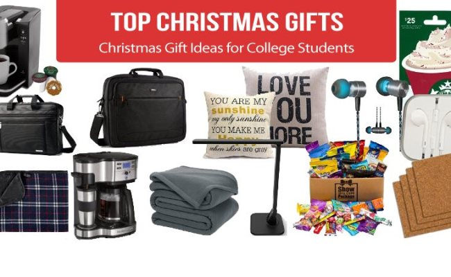 Best Christmas Gift Ideas For College Students 2019