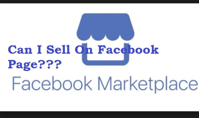 Can I Sell On Facebook