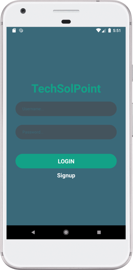 login screen in react native tutorial