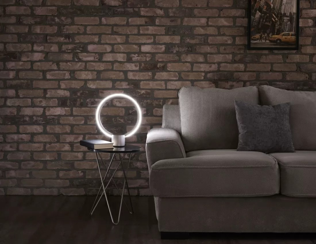 The C by GE Sol is a desktop lamp with Amazons Alexa