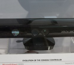 Microsoft xbox console with Kinect