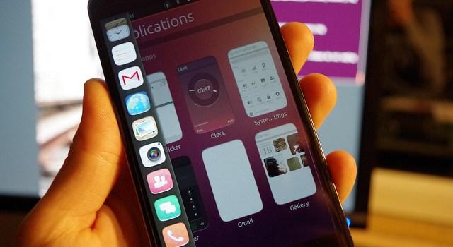 Ubuntu Phone demo