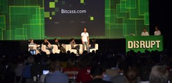 Bitcasa team at Techcrunch Disrupt