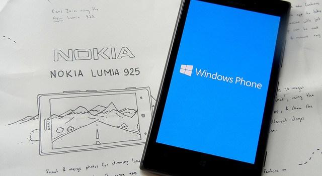 Nokia Lumia with Windows phone OS