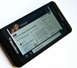 Blackberry Z10 black model