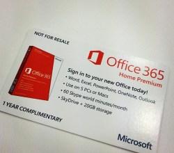 Office 365 storage increased