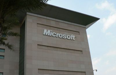 Microsoft Campus Building in Hyderabad