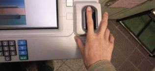 Biometric authentication via Fingerprint