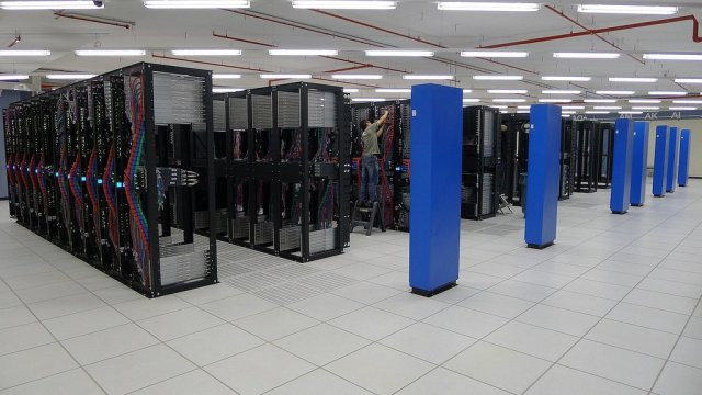 data center at remote location for cloud backup