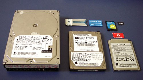 Storage devices over the years