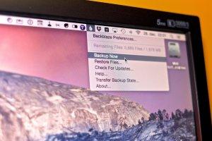 Online Backup on Mac
