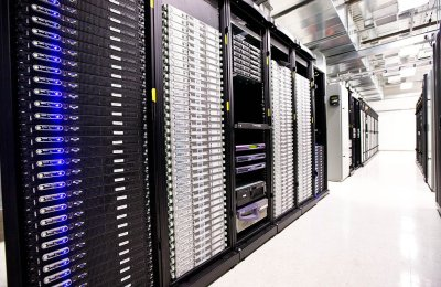 data center used for hybrid cloud computing