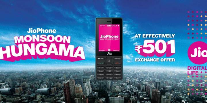 Reliance Jio Phone Monsoon Hungama Offer Starts From Today