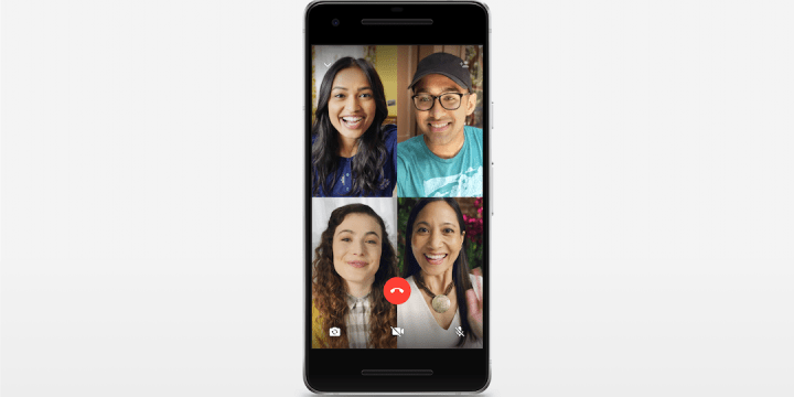 Whatsapp group audio and video call functions are rolling out for all users