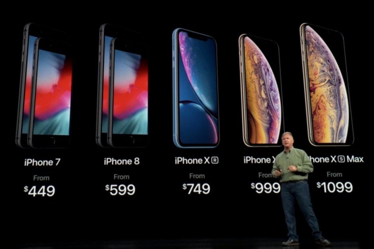 Apple iPhone XS , XS Max & XR Prices