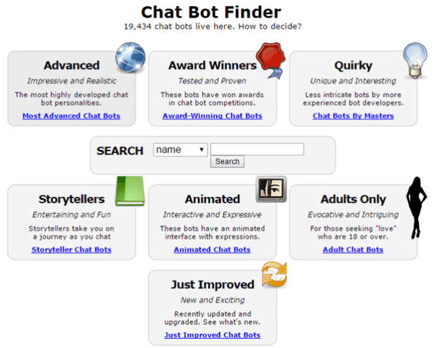 List of Best Chatbots to Converse with • Techs Text