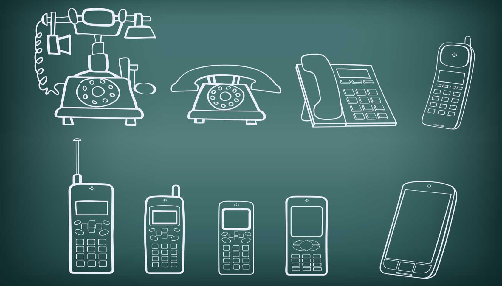 Image result for evolution of phone