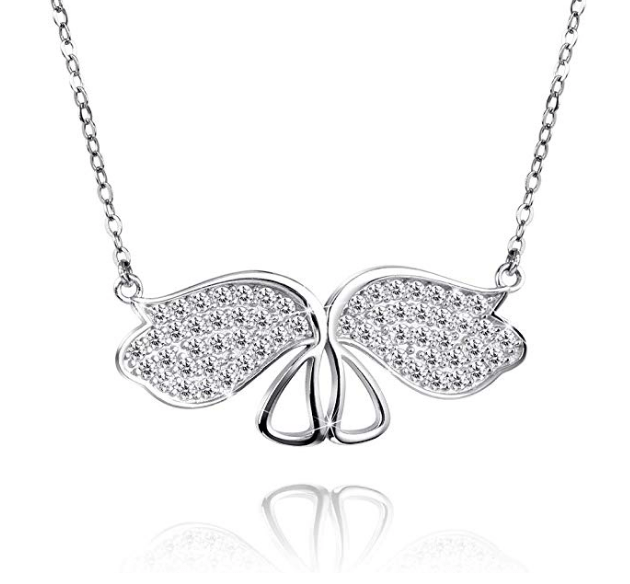【50% OFF】925 Sterling Silver Necklace Butterfly Pendant