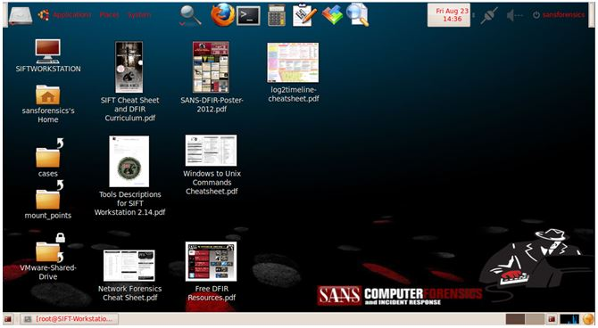 SANS Investigative Forensic Toolkit (SIFT)