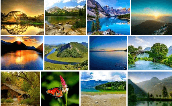 50000 Hd Nature Wallpapers In Zip File 4k W Sony Ericsson Xperia X10