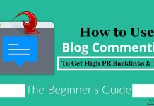 How to Use Blog Commenting to Get High PR Backlinks and Traffic