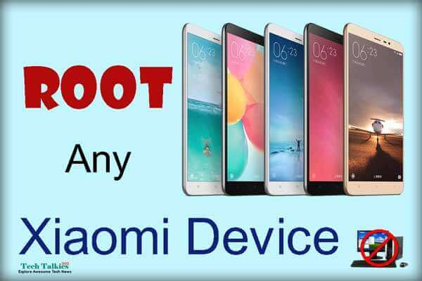 Root any Xiaomi Device without PC Easily