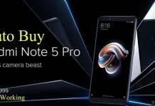 Trick to Autobuy Redmi Note 5 Pro Script Flipkart Flash Sale