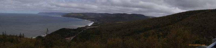 Cloudy Cabot Trail (Panorama)