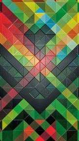 Triangles - iPhone 6 Plus wallpapers