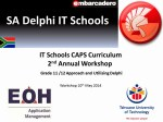 2nd DelphiITSchools Event at EOH