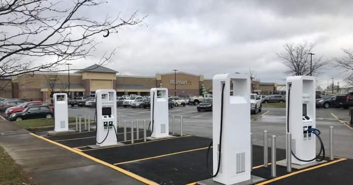 Electrify America Walmart Building Ev Charging Stations