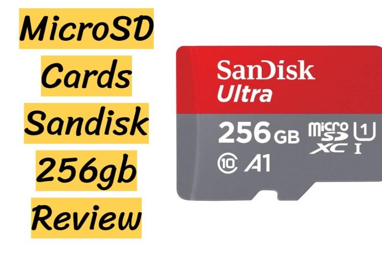 Sandisk 256gb micro sd