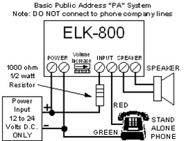 Elk Products Audio Amplifier, 10 Watt