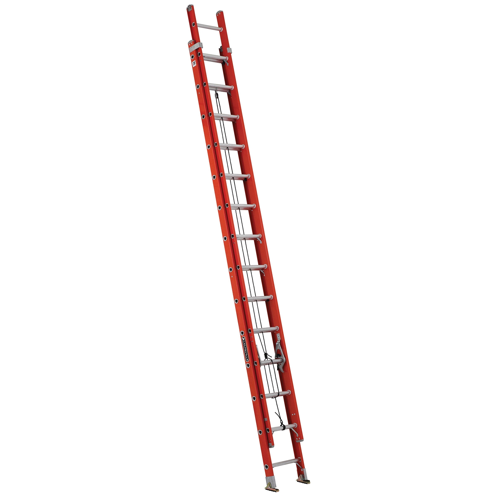 28ft fiberglass ladder w