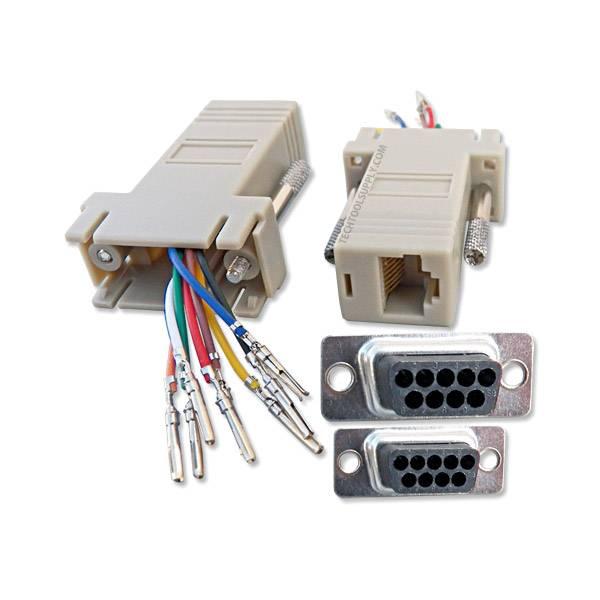 100 Ohm Platinum Wiring Diagram Db9 Male To Rj45 Female Modular Adapter