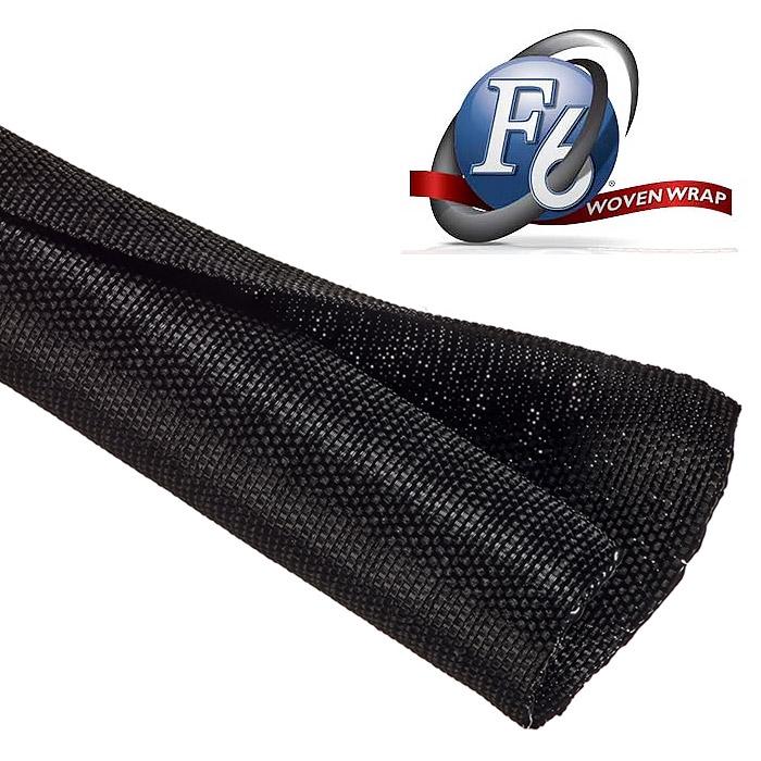 Tripp Lite Wiring Harness Techflex F6 Woven Wrap Black 3 4in X 100ft