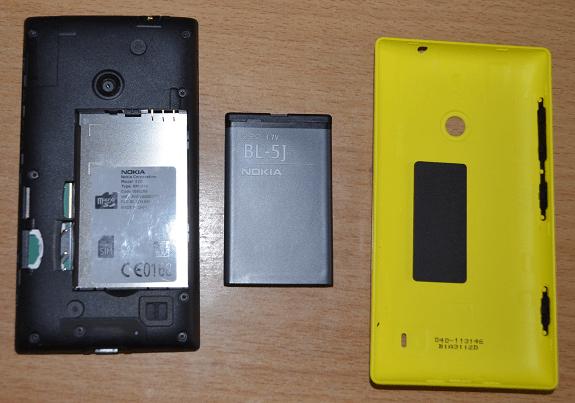 Lumia 520 inside