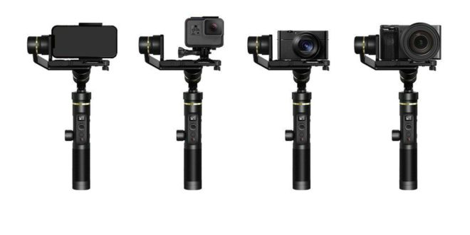 Buy FeiyuTech G6 Plus 3-Axis Gimbal For Just $215 On TomTop