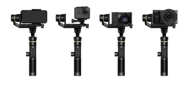 FeiyuTech G6 Plus Camera Gimbal Stabilizer On Flash Sale