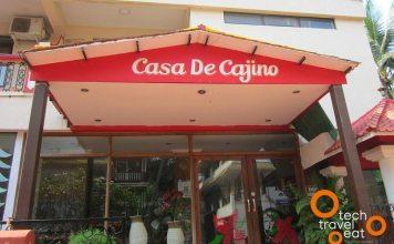 Entrance to Casa De Cajino