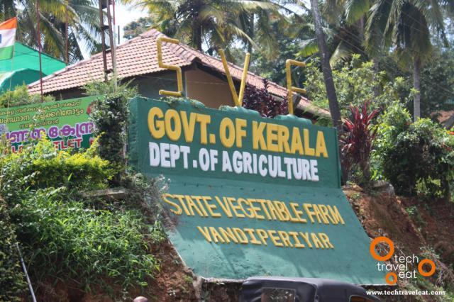 State Vegetable Farm, Vandiperiyar