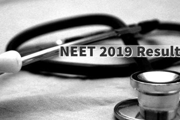 NEET Result 2019: NTA Releases NEET Results at ntaneet.nic.in.